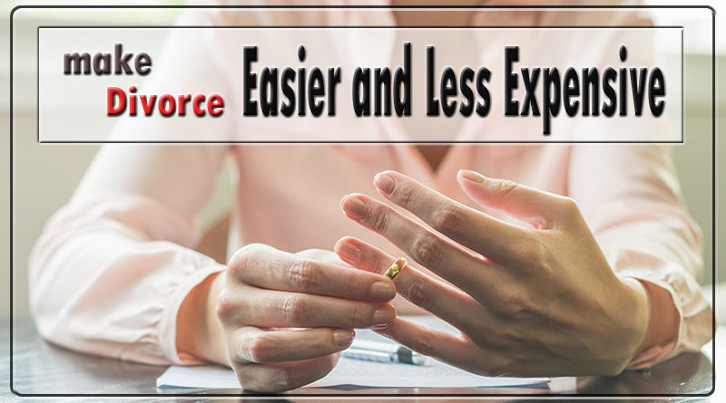 4 Tips to make Divorce Easier and Less Expensive