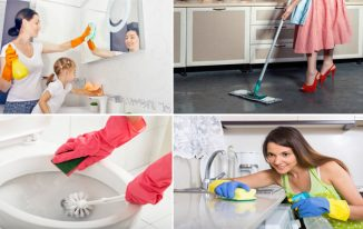 How Do British Women Manage Their Cleaning Routine?